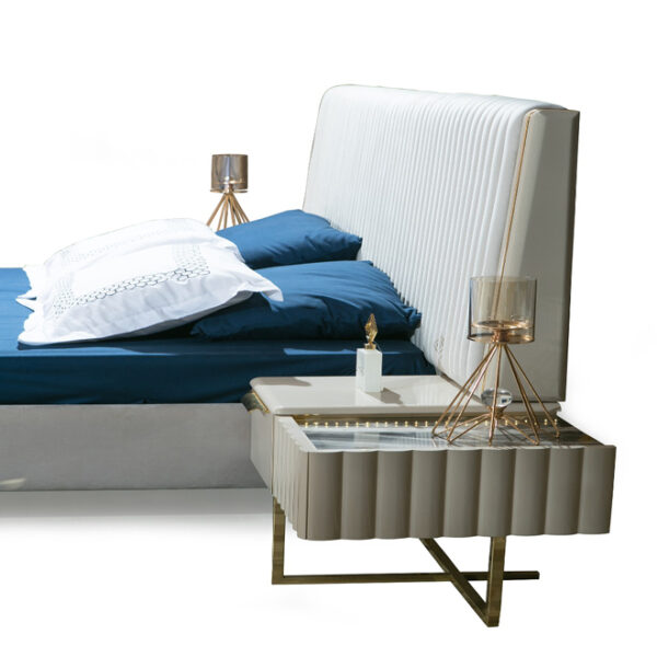 Luxury Bed Frame With Headboard