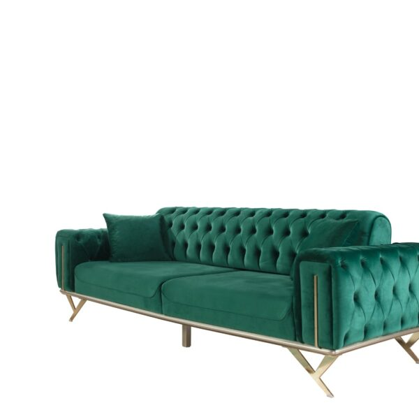 Contemporary Unique Sofa Bed Green