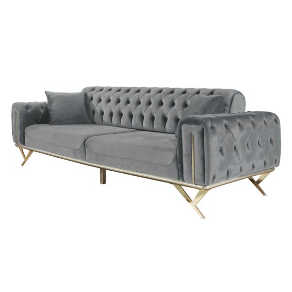 Contemporary Unique Sofa Bed Grey