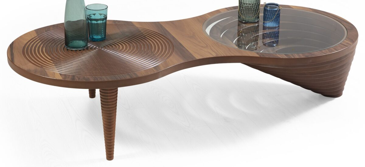 Hurrem Coffee Table With Designed Legs