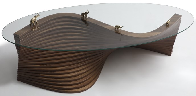 California Waves Coffee Table