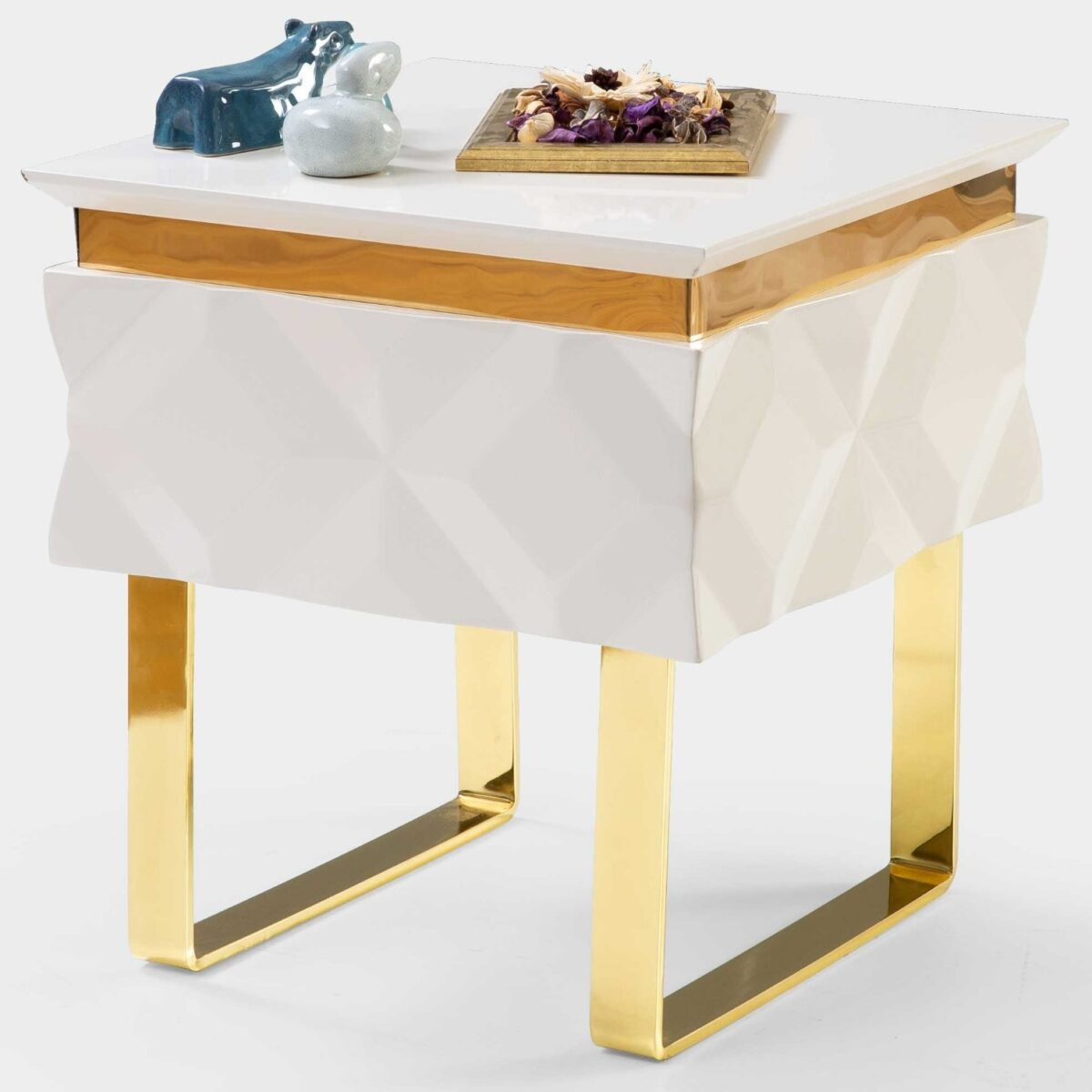Snow Flake Side Table